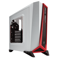 CORSAIR Carbide SPEC-ALPHA White/Red Case