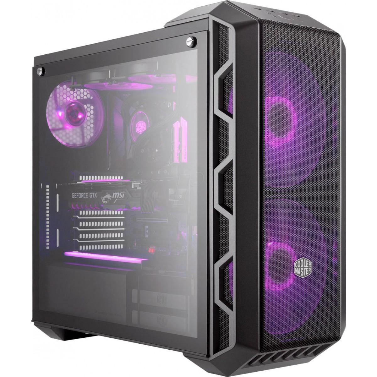 COOLERMASTER MasterCase H500 RGB Tempered Glass Gaming Case