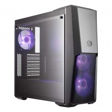COOLERMASTER MasterBox MB500 RGB Tempered Glass Gaming Case