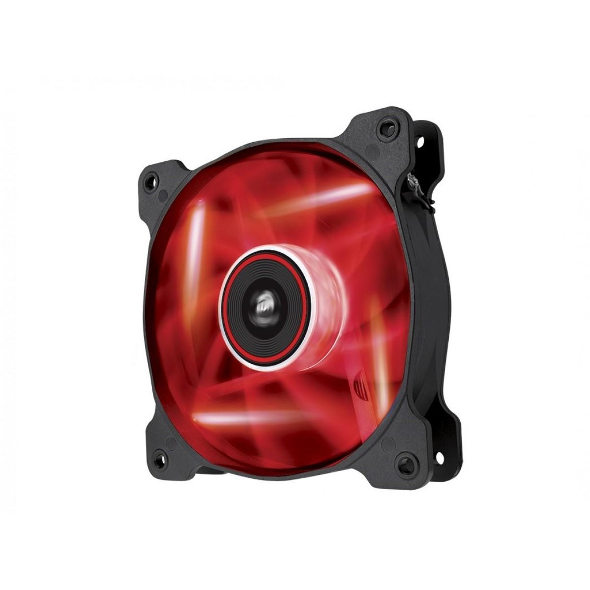 CORSAIR AF120 120MM Red LED Quiet Edition Case Fan