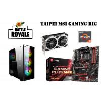 Taipei MSI Battle Royale Gaming Rig -RYZEN