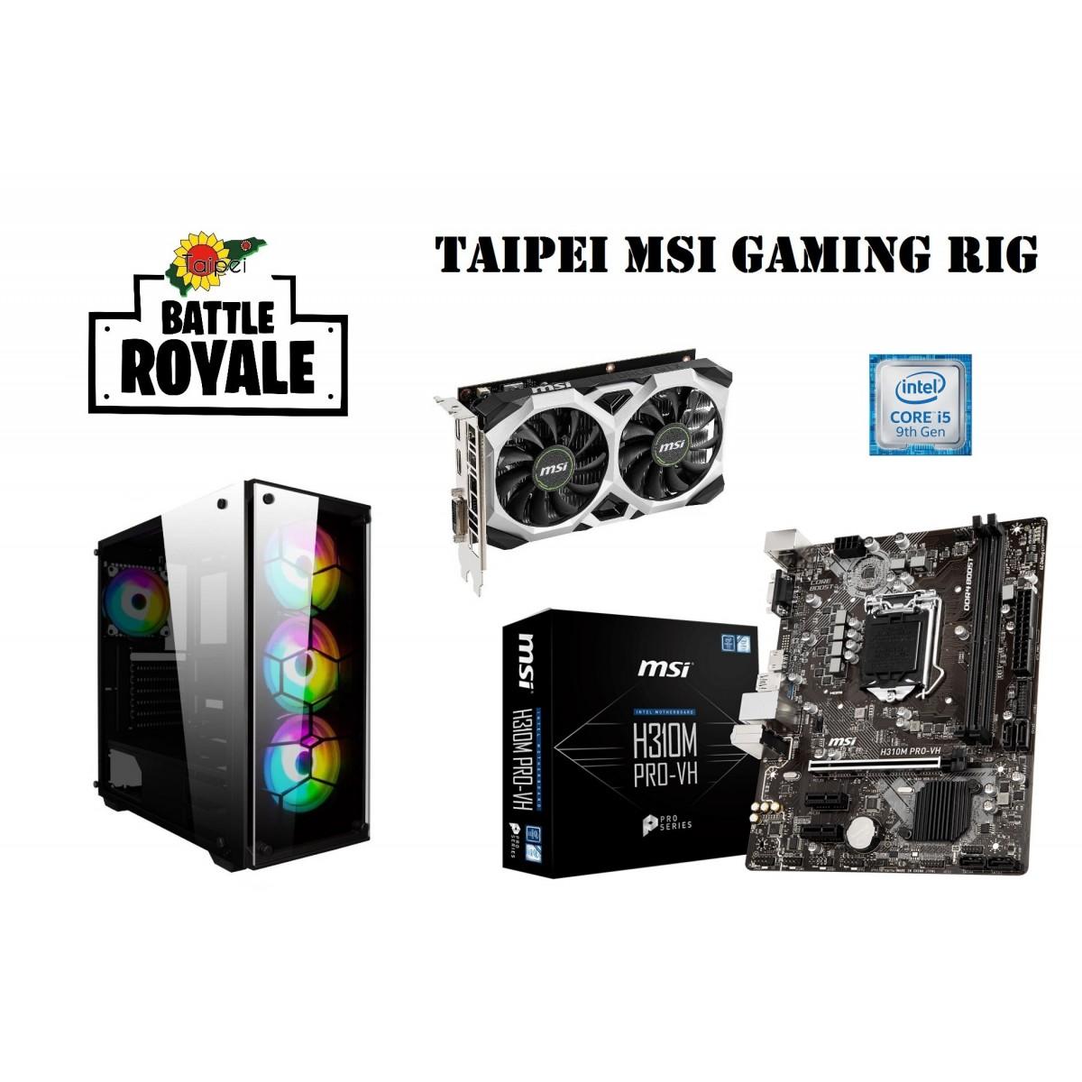 Taipei MSI Battle Royale Gaming Rig -i5