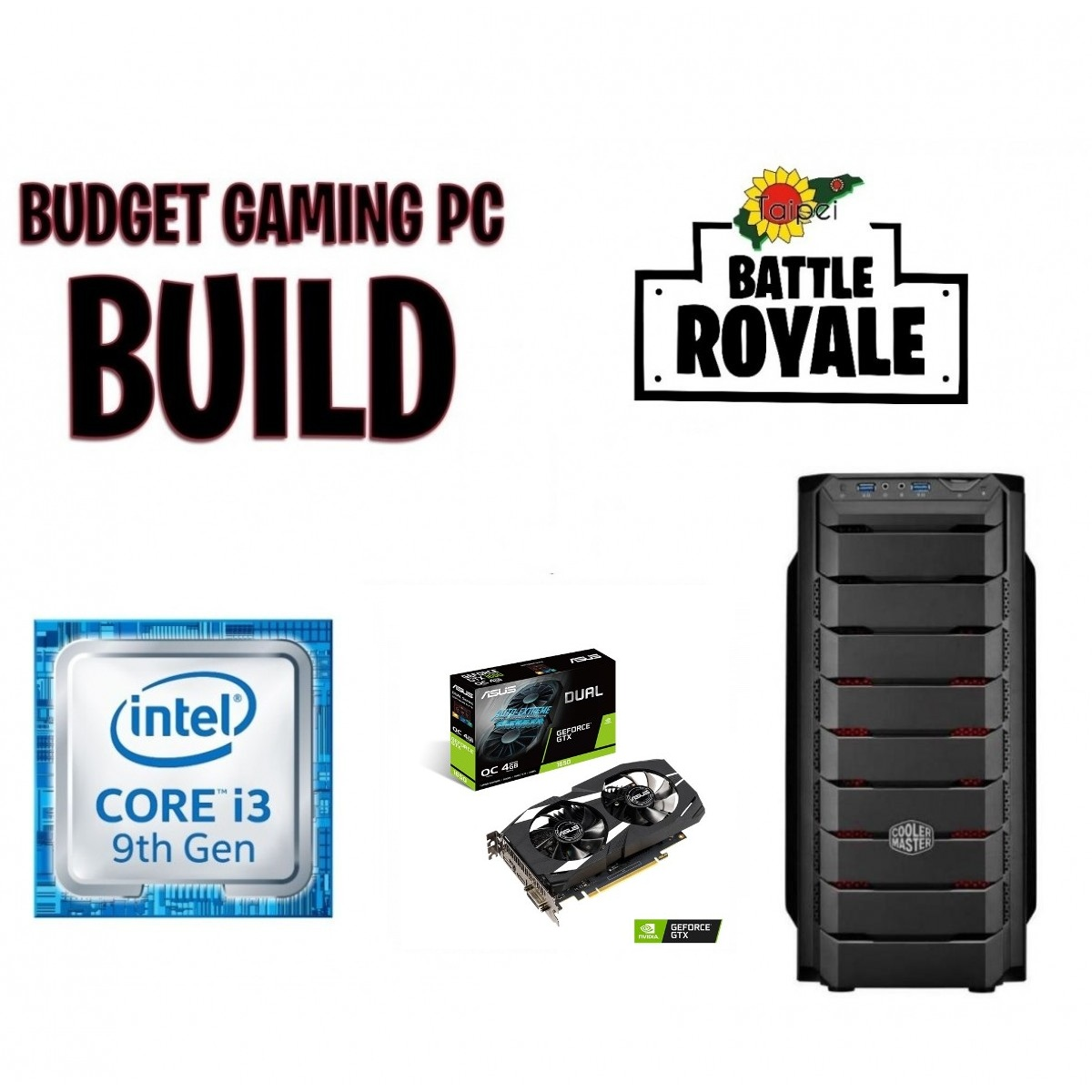 Taipei Battle Royale Gaming Rig 9th Gen