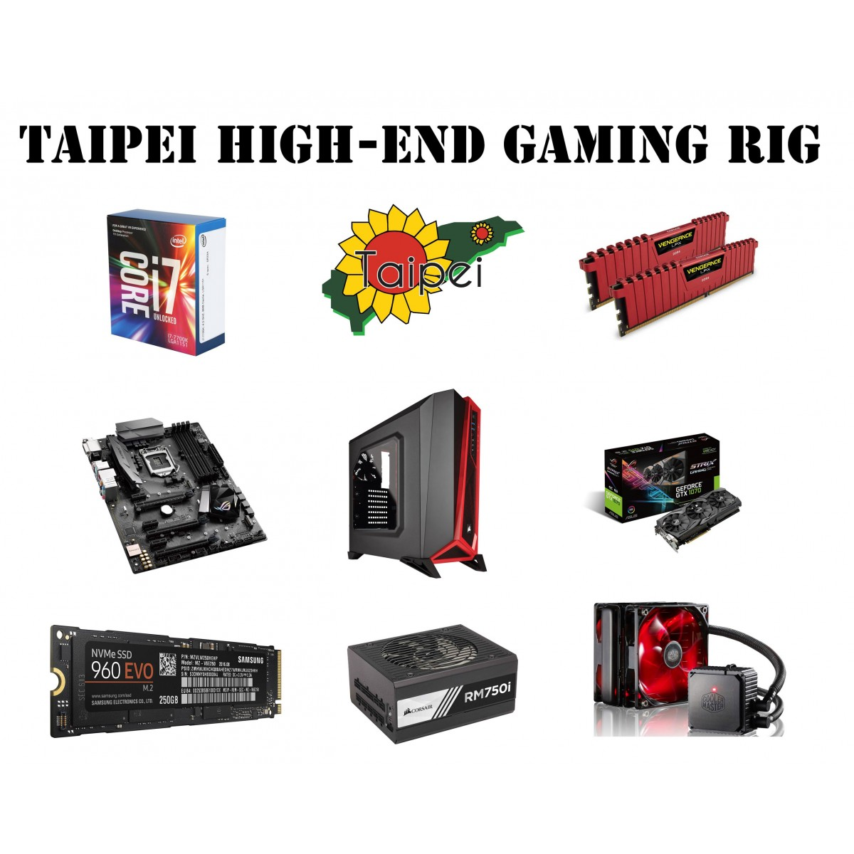 Taipei High-End Gaming Rig