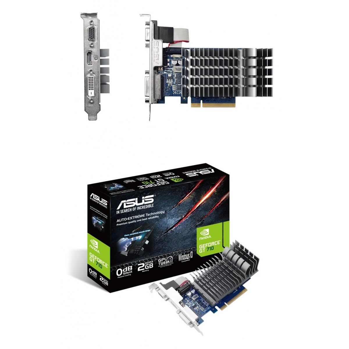 ASUS GT710 2GB DDR-3  Graphics Card