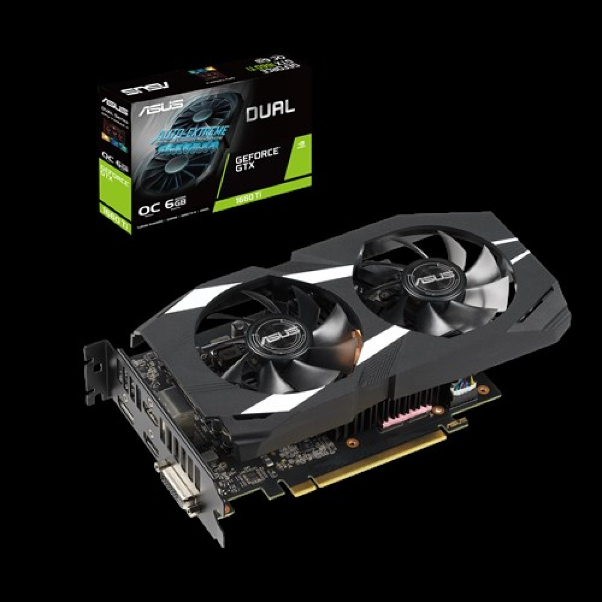 ASUS GTX1660TI DUAL OC 6GB DDR-6  Graphics Card