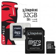 KINGSTON 32GB SDC10G2 Micro SD Card