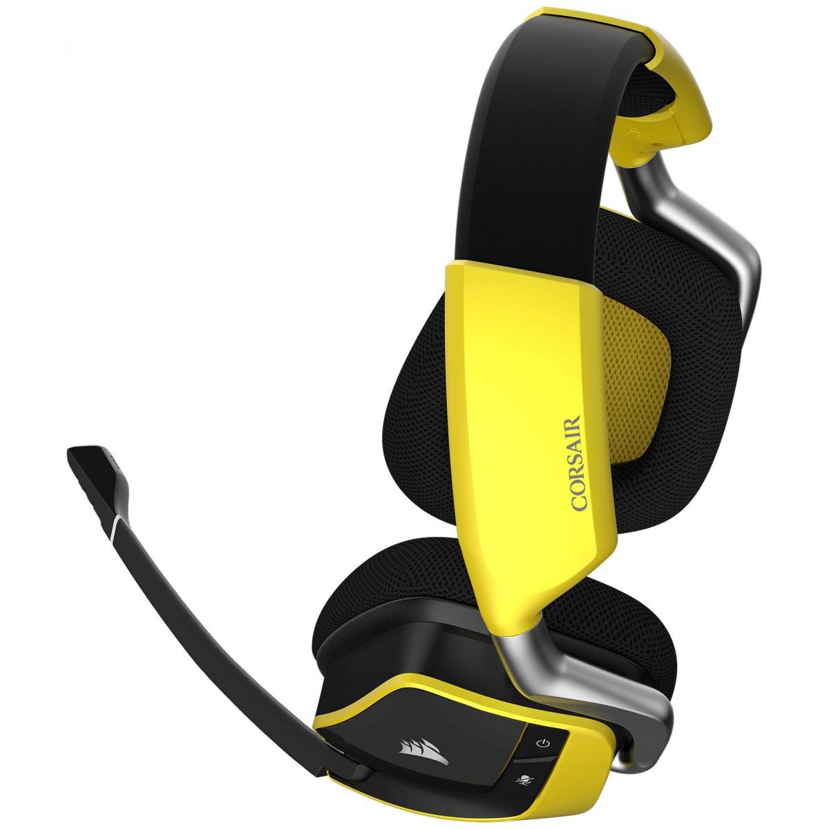 Corsair VOID PRO RGB Wireless 7.1 SE Premium Gaming Headset -Yellow