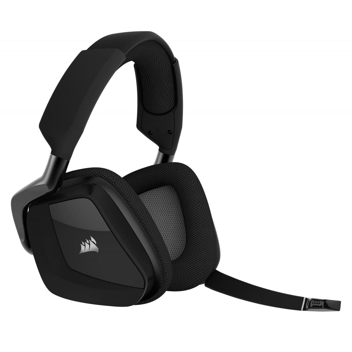 Corsair VOID PRO RGB Wireless 7.1 SE Premium Gaming Headset-Carbon
