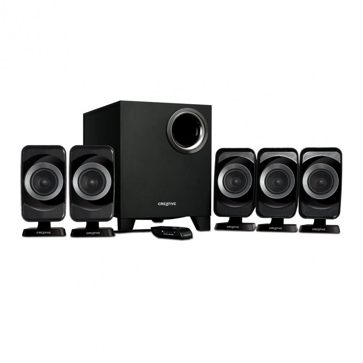 Creative INSPIRE T6160 5.1 Speaker System