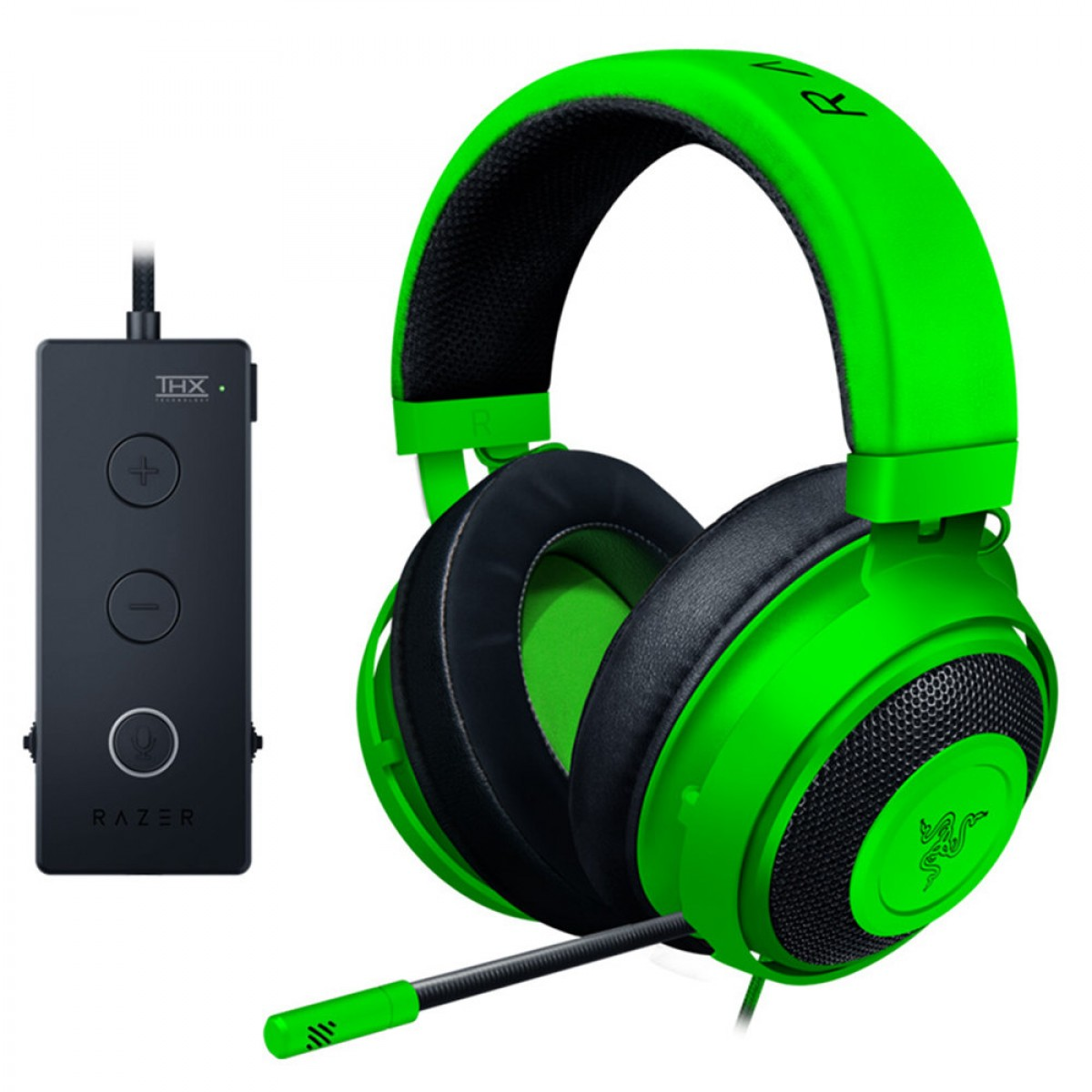 Razer kraken Tournament Gaming Headset -Green