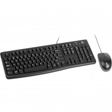 LOGITECH MK120 Wired Keyboard & Mouse Combo