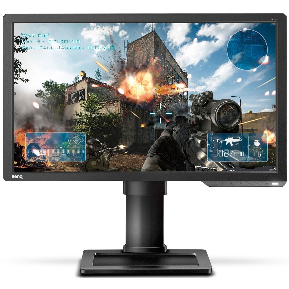 Benq Zowie XL2411P 24'' 144HZ 1MS 1080P E-Sport Gaming Monitor