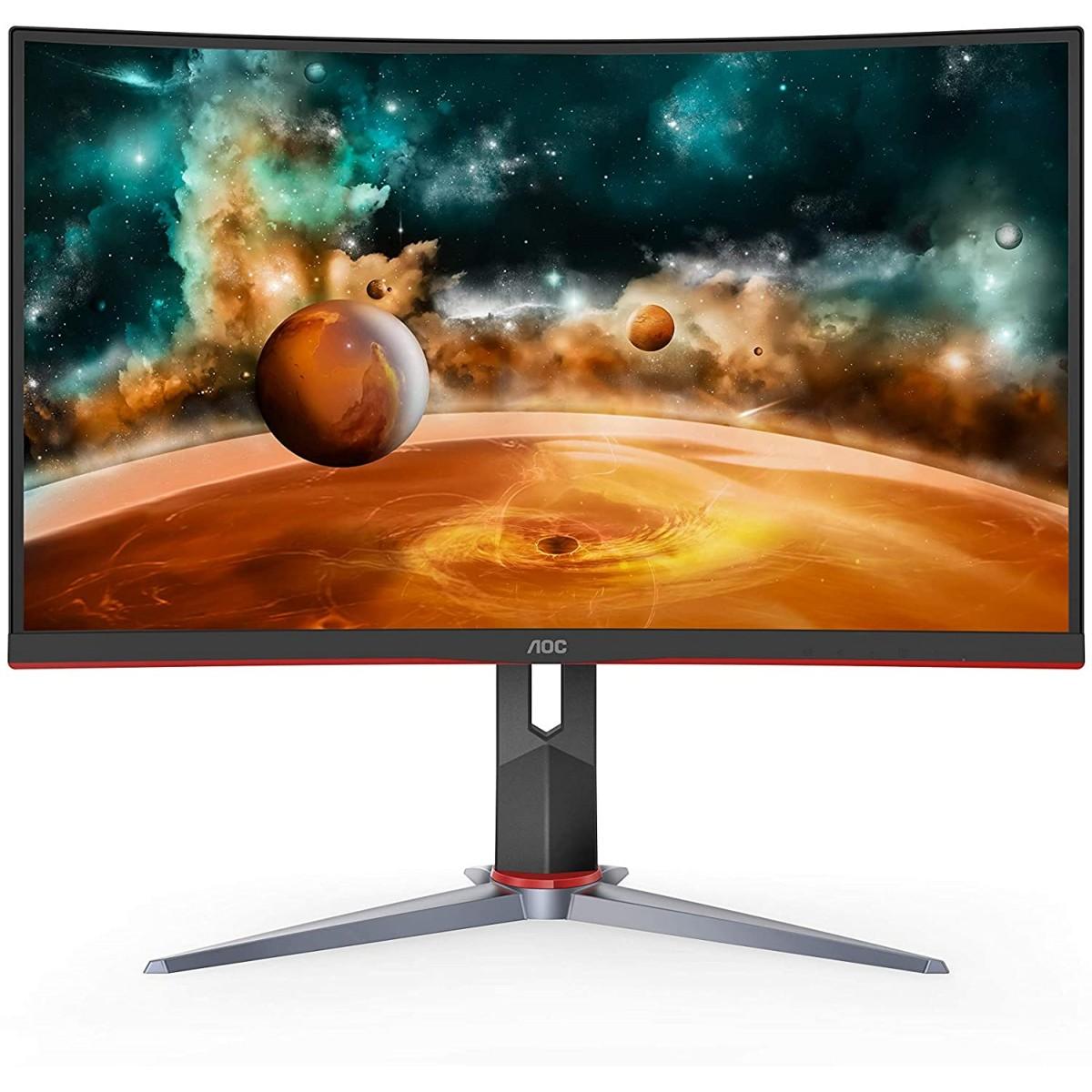 AOC CQ27G2 27'' 144HZ 1MS 2K CURVED Gaming Monitor