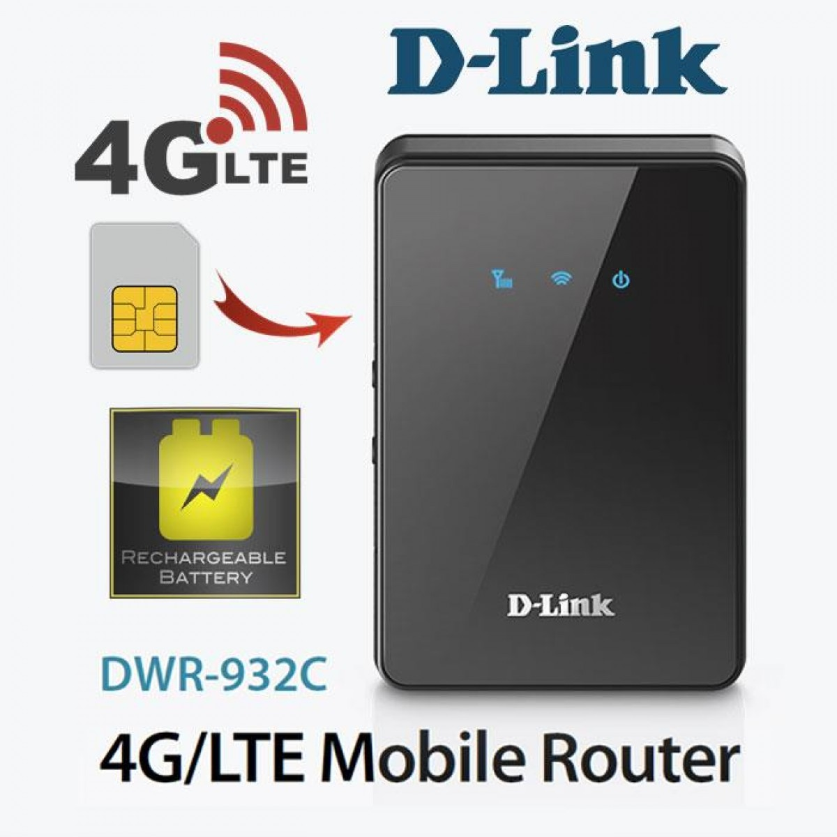 d link dwr 932c 4g mobile wireless router taipei for. Black Bedroom Furniture Sets. Home Design Ideas