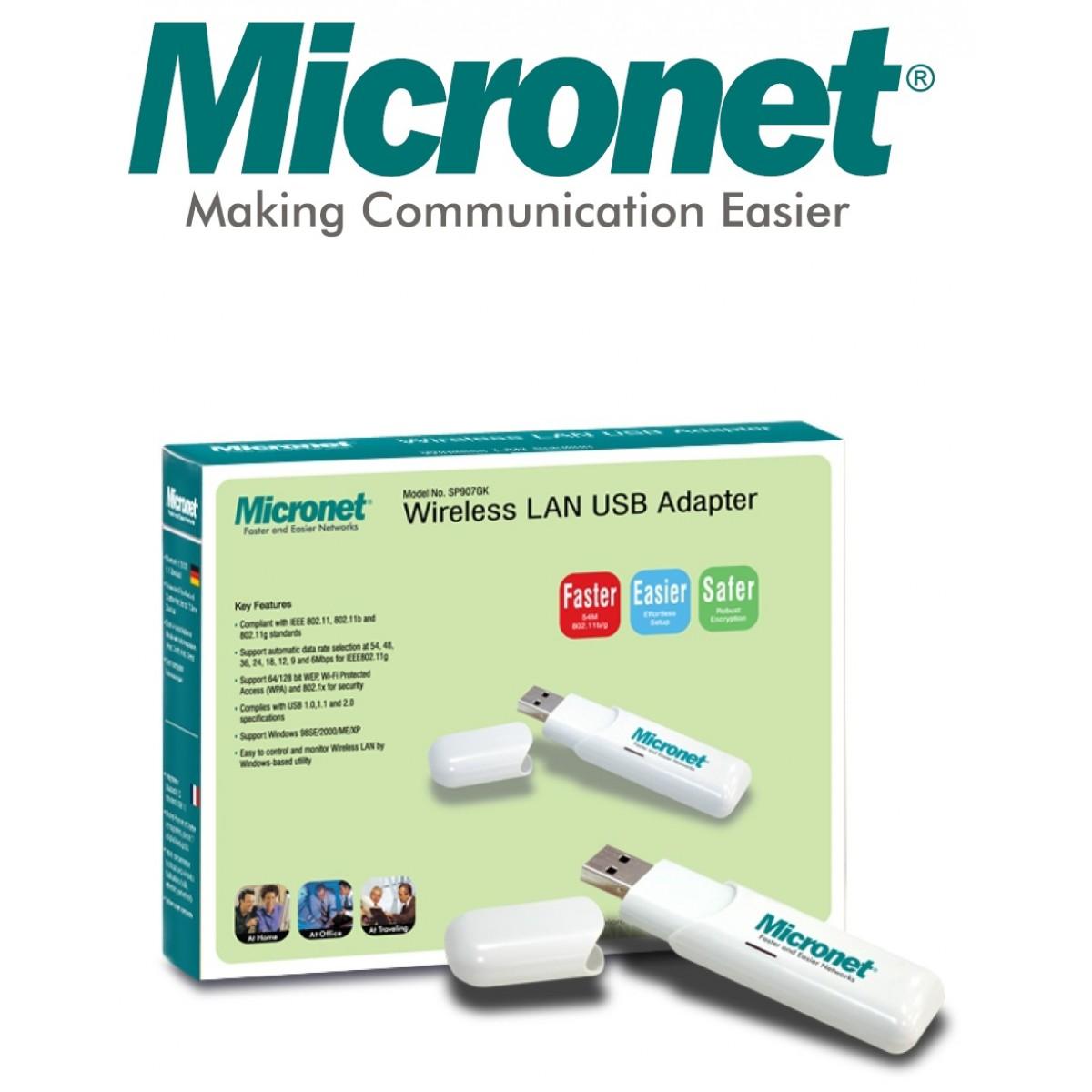 MICRONET SP907GK USB Wireless Adapter