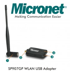 MICRONET SP907GP 5dBi USB Wireless Adapter