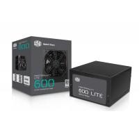 COOLER MASTER MasterWatt Lite 600W 80 PLUS Power Supply