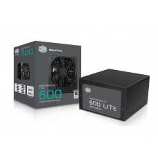 COOLER MASTER MasterWatt Lite 600W 80 PLUS Power Supply