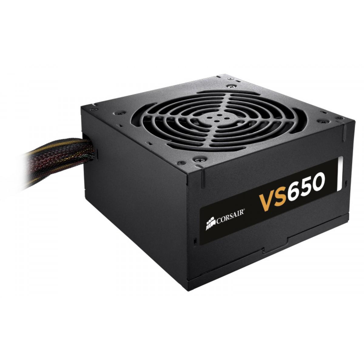 CORSAIR VS650 650W 80 PLUS Power Supply