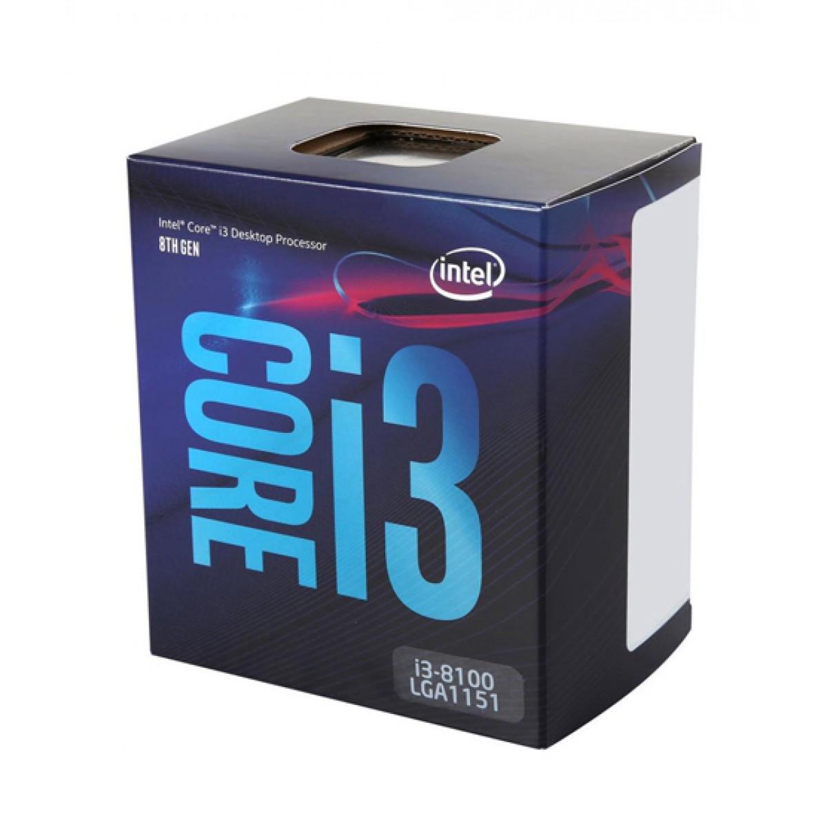 Intel Core I3 8100 Processor 8th Gen