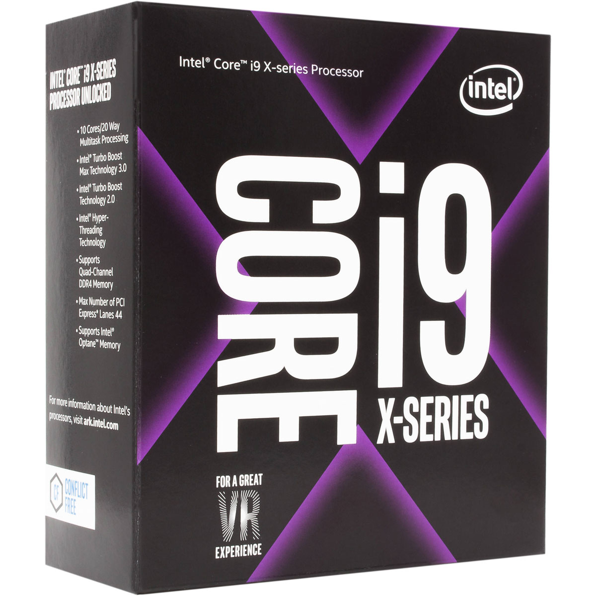 Intel Core i9 7900X X-Series Processor