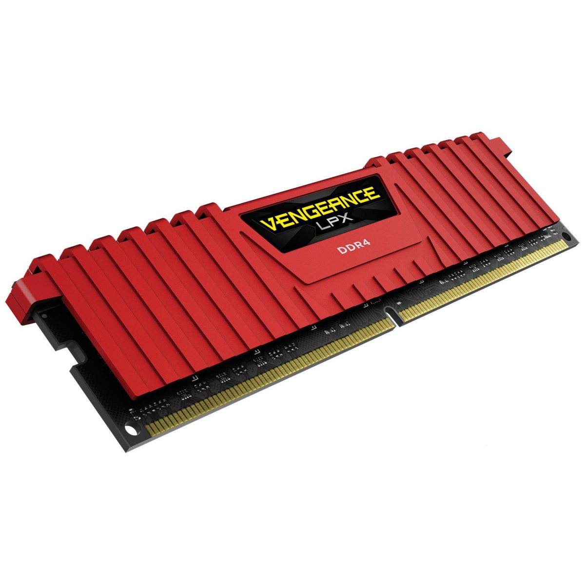 CORSAIR Vengeance LPX 8GB DDR-4 2666MHz Memory-RED