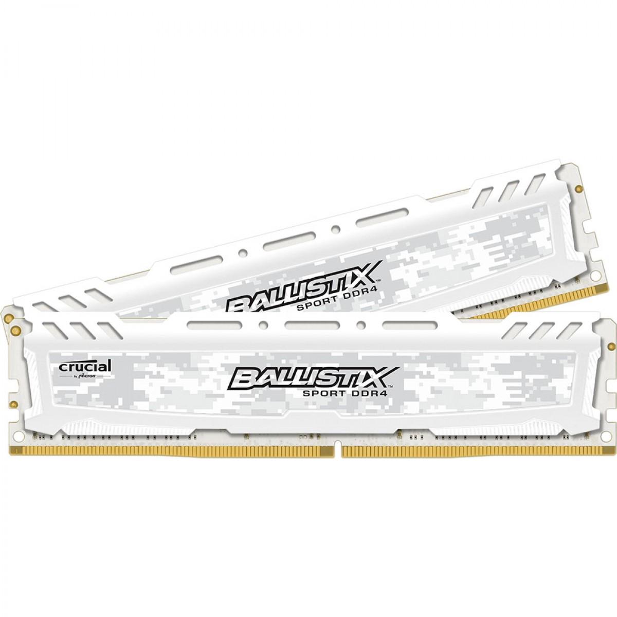 CRUCIAL Ballistix Sport 8GB DDR-4 2400MHz (4GBX2) Memory