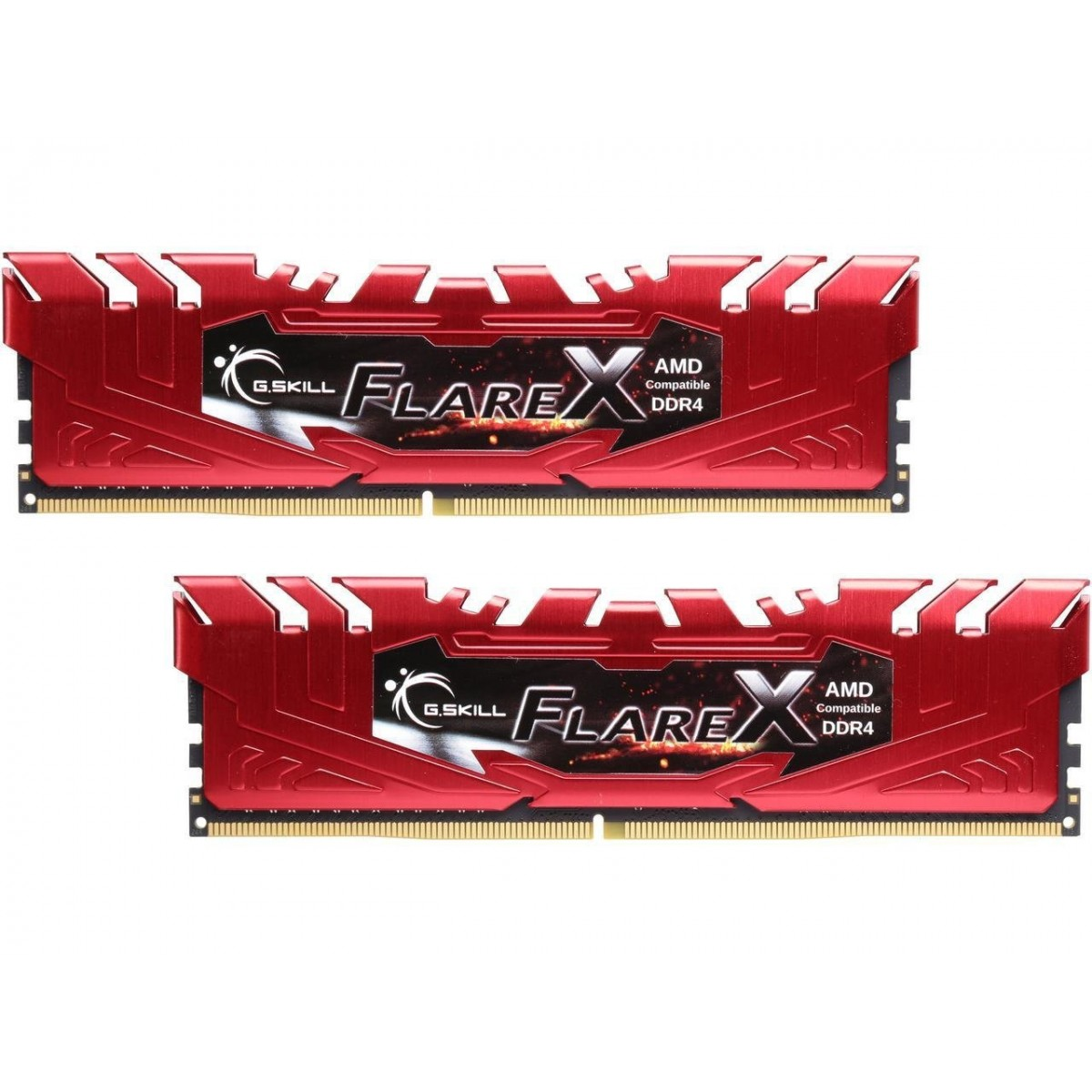 G.SKILL Flare-X 16GB DDR-4 2400MHz (8GBX2) Kit Memory (AMD RYZEN)