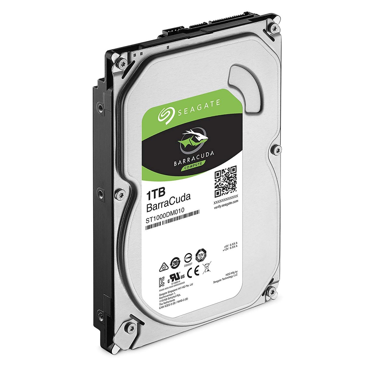 SEAGATE 1TB Barracuda Desktop Hard Drive
