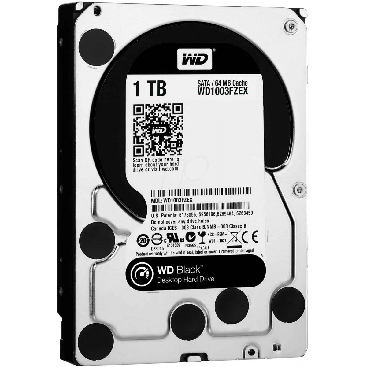 WD 1TB Black 7200RPM Desktop Hard Drive