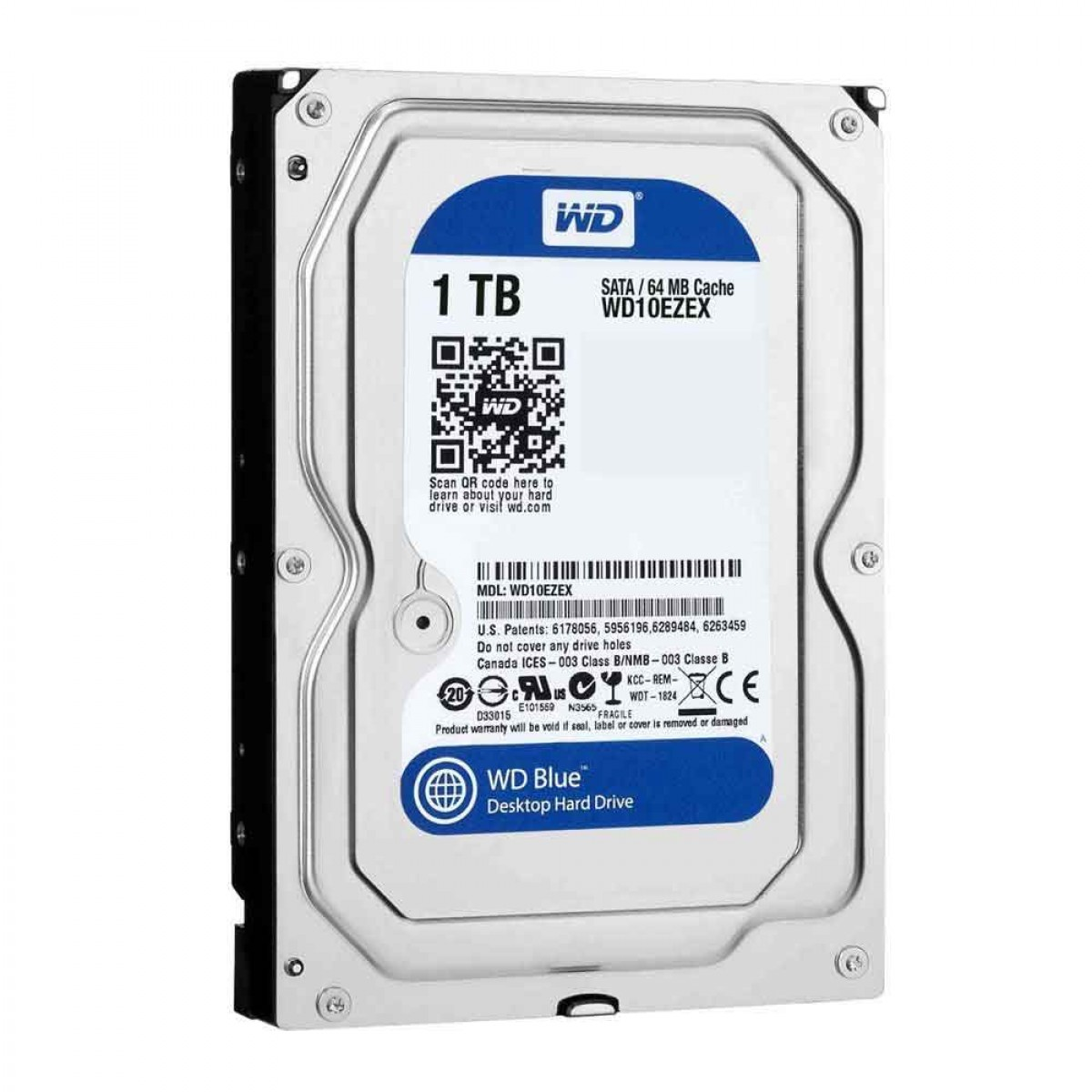 WD 1TB Blue 7200RPM Desktop Hard Drive