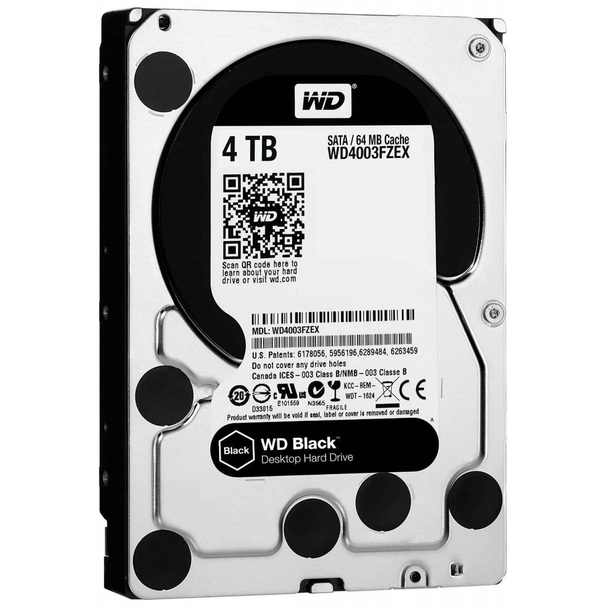 WD 4TB Black 7200RPM Desktop Hard drive