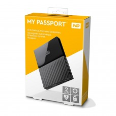 WD 2TB My Passport External USB3.0 Hard Drive