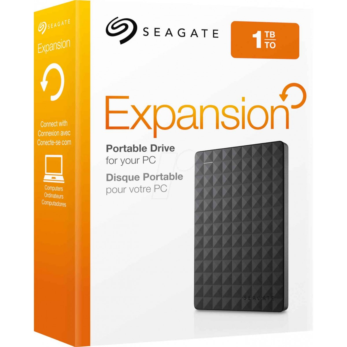 SEAGATE 1TB Expansion External USB3.0 Hard Drive