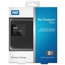 WD 2TB My Passport External USB3.0 Hard Drive