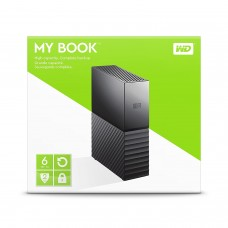 WD 6TB My Book External USB3.0 Hard Drive  (With Power)
