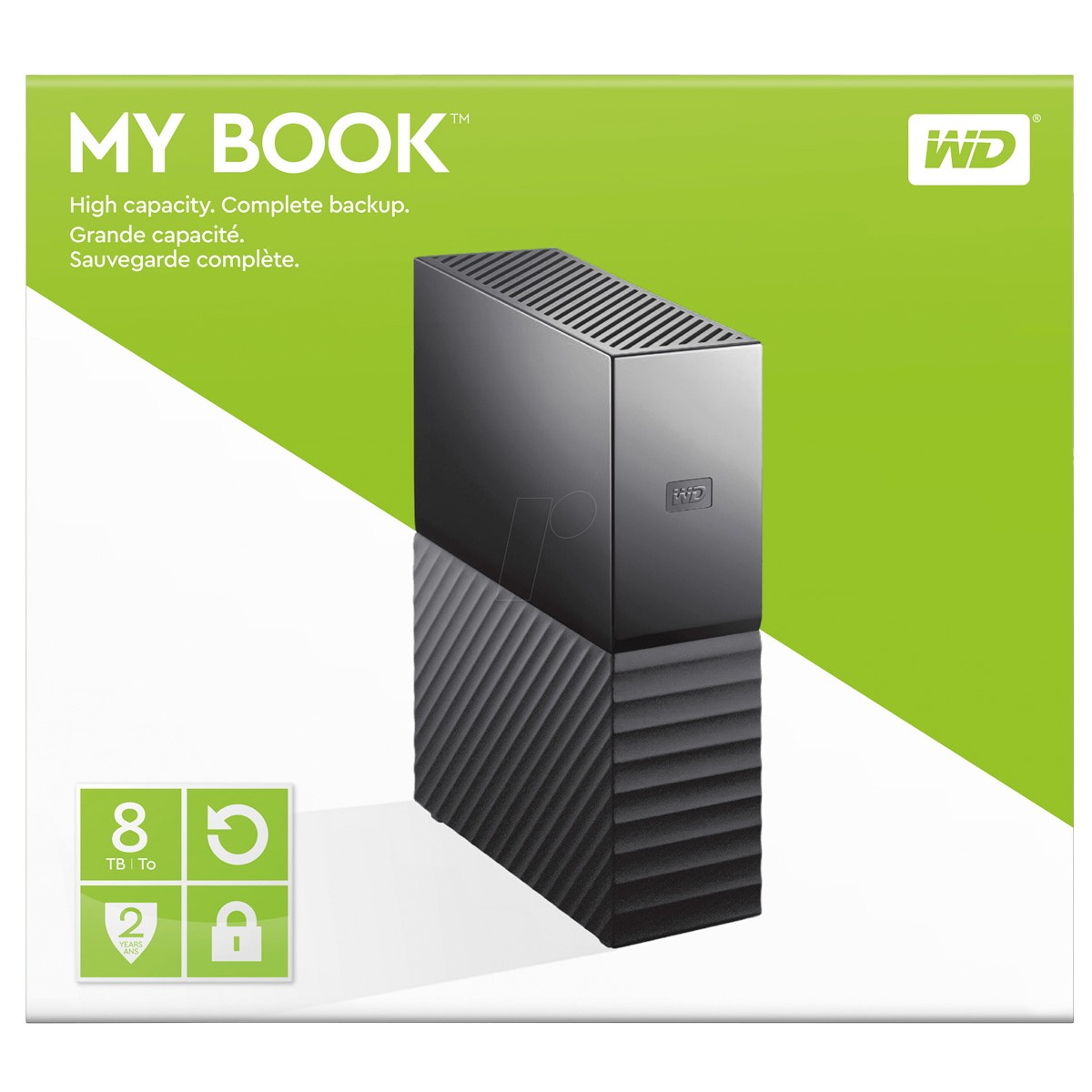 Wd 8tb My Book External Usb3 0 Hard Drive With Power