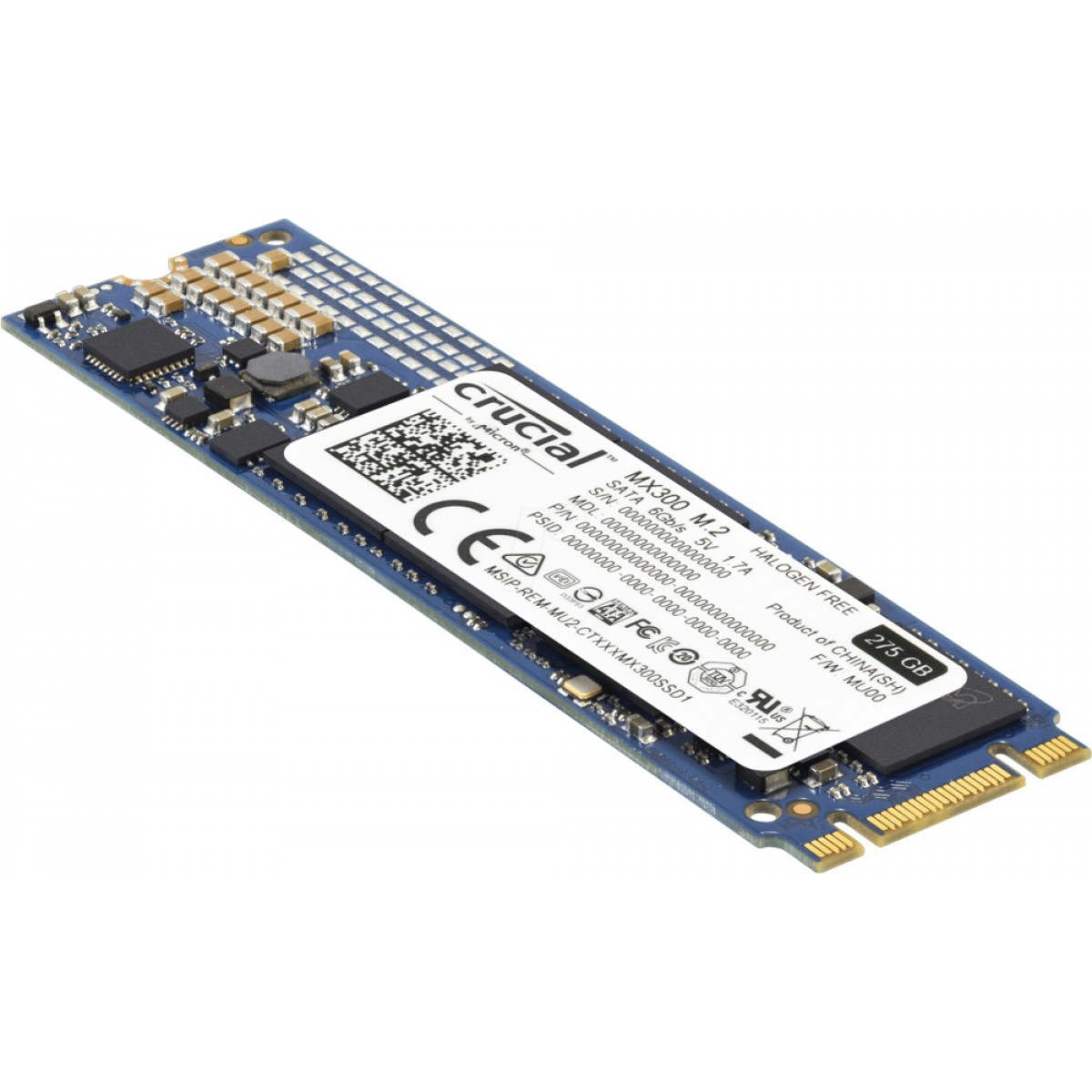 CRUCIAL MX300 275GB SSD M.2