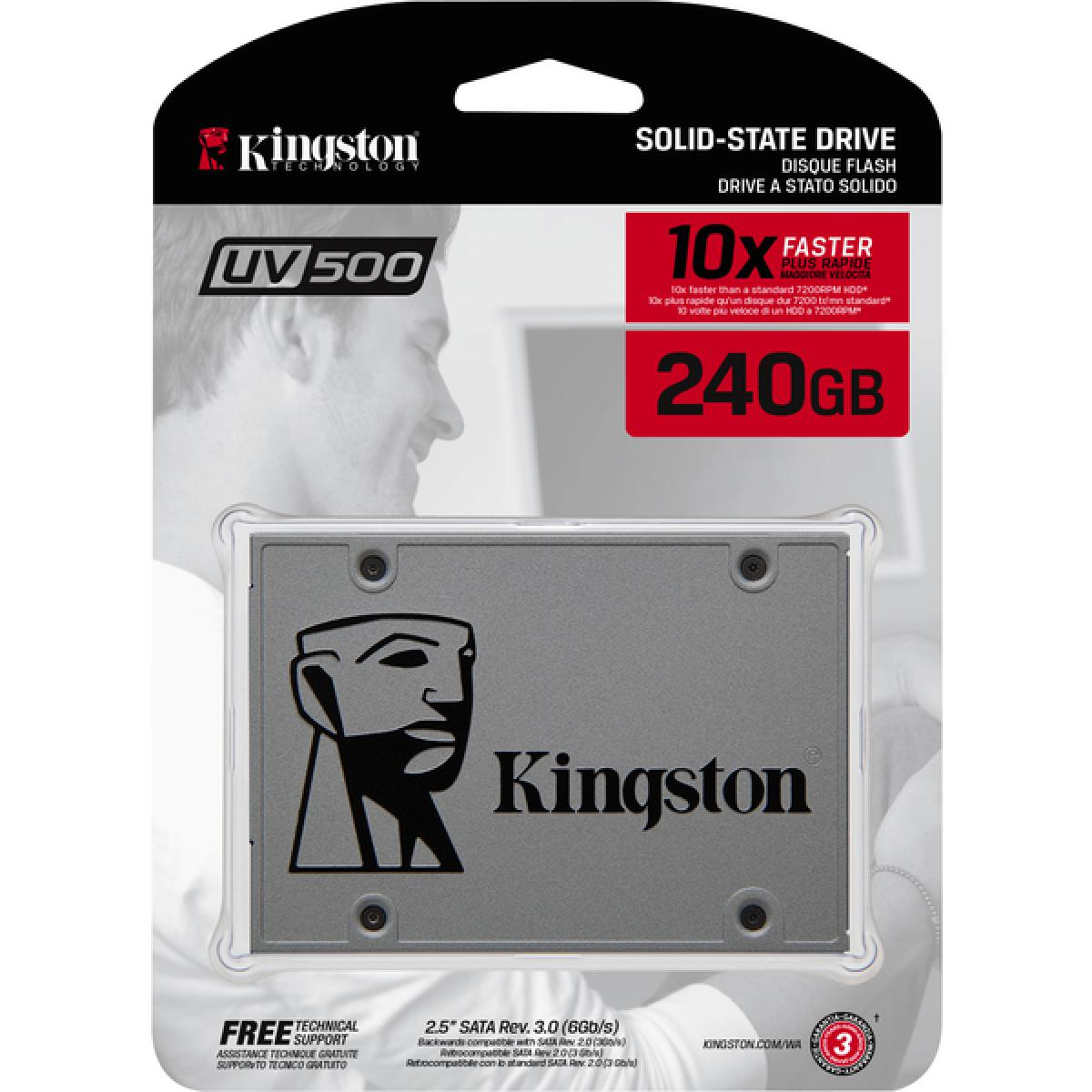 KINGSTON UV500 240GB SSD 2.5''